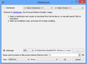 UNetbootin ESXi 5.1 Nutanix